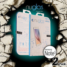 X2 Genuine Nuglas Tempered Glass Screen Protector for Samsung Galaxy Note 5 9H