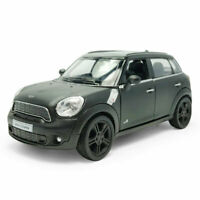 1:36 Mini Cooper S Countryman Model Car Diecast Toy Vehicle Black Kids Gift