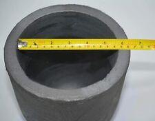 20kg Casting Clay Graphite Crucibles Refining Melting Copper Aluminium Brass ect