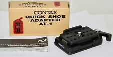 "Contax 645 AT-1 Quick Shoe Adapter New in Box ""Never Used"" PERFECT"