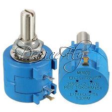 10K Ohm 3590S-2-103L Rotary Wirewound Precision Potentiometer Pot 10 Turns