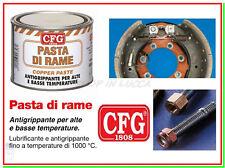 Cfg 500ml Pasta Rame antigrippante Usura Ossidi metalli resiste alte Temperature