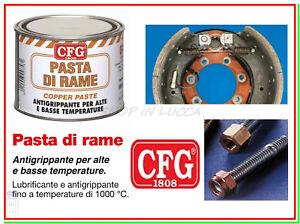 Pasta di Rame CFG 500ml Antigrippante Prigionieri Testate Scambiatori Caldaie