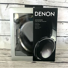 Denon AH-D5000 Over the Ear Premium Headphones Wood