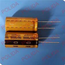 1PCS Electrolytic Capacitor NICHICON 25*50mm 10000UF50V/50V10000UF