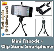 Trípode para móviles Samsung Xiaomi BQ LG Mini Trípode Smartphones Flexible