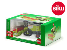 Siku 4258 Claas Lexion 770 Combine on Rubber Tracks with Trailer 1:32 Die-Cast