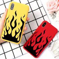 Fashion Flame Phone Case For iPhone 11 X XR 11pro XS MAX 7plus 8 6 Plus SE