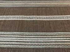 Horizontal Chenille Stripes Upholstery Fabric 6.5 Yds