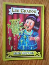 Image * Les CRADOS 3 N°148 * 2004 album card Sticker FRANCE Garbage Pail Kid