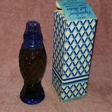 AVON CRYSTALPOINT Salt Shaker SONNET COLOGNE In Box - 1.5 oz full -NOS -FreeSHIP