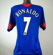 RONALDO 7 Manchester United Shirt - XL - 2005/2006 - Away Vodafone Nike Jersey