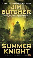Dresden Files #4: Summer Knight by Jim Butcher (2002, Mass Market Paperback)