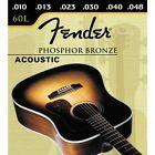 Juego set de 6 cuerdas guitarra acustica española clasica de bronce FENDER