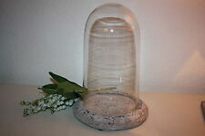 Markenlose Deko-Teller aus Glas