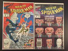 Web Of Spider-Man #36 & 52 Marvel Comics Combine Shipping