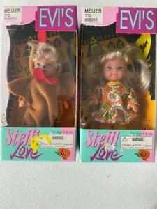 "Simba Toys Steffi Love Toddler Halloween Dolls Lot of 2 (4"") New"