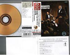 OSCAR PETERSON TRIO We Get Reques JAPAN Mini-LP CD 24k GOLD w/OBI UCCU-9506