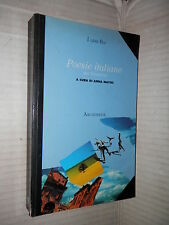 POESIE ITALIANE DEL NOVECENTO Anna Mattei Archimede 1999 libro scuola saggistica