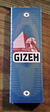 Gizeh Light Weight Single Wide Cigarette Rolling Papers - Lot Of 5 Packs