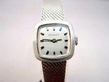 Klassische Damen Armbanduhr Exponent 835 Silber aus dem 60er Jahre