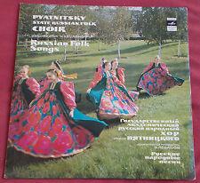 PYATNITSKY CHOEUR LP ORIG RUS RUSSIAN FOLK SONGS  LEVASHOV