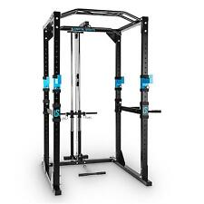 Power Rack Cage Multi Gym Machine Cable Pulley Pull Up Bar Home Workout Weight