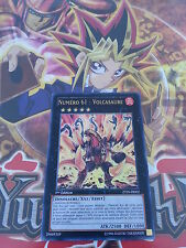 Carte Yu-Gi-Oh! Numéro 61 : Volcasaure ZTIN-FR002 VF / french number volcasaurus