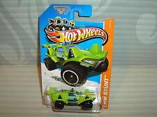 2013 Hot Wheels 'Hw Stunt' #87 = Quicksand = Lt.Green us