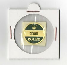 5508 ROLEX Sticker Caseback SUBMARINER JAMES BOND VINTAGE 1950's 1960s OEM N.O.S