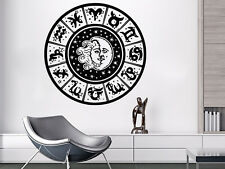 Wall Decals Sun And Moon Zodiac Signs Stars Decal Vinyl Sticker Home Decor MS611