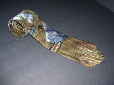 "Viaggio 100% Silk Mens Suit Neck Tie Multi-Color 57"" L 3.75"" W"