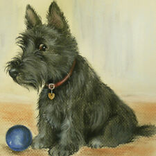 More details for  scottish terrier ltd edition print from original by sue barratt