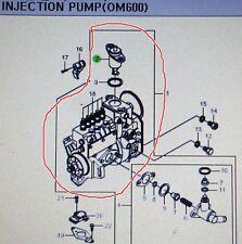 Genuine Injection Pump Assy for REXTON, KORANDO, MUSSO/SPORTS +662LA #6620707001