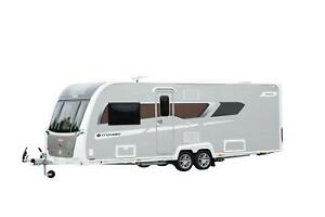 Brand New 2022 Crusader Storm - Transverse Island Double Bed, Twin Axle - DUE IN