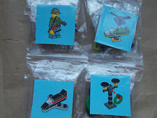 NEW LEGO CITY SCENE - MAN WITH REMOTE CONTROL HELICOPTER & PLANE, STREET LIGHTS