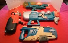 Lot of 4 Super Soaker Larami Hasbro 2000s XP 70 Max 6000 Vaporizer Parts Repair
