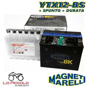 BATTERIA MAGNETI MARELLI YTX12-BS SIGILLATA SUZUKI Marauder 800 2002 2003
