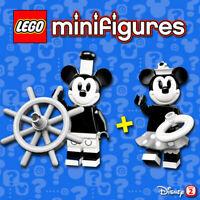 LEGO Disney Minifigures #71024 - Vintage Mickey Mouse + Vintage Minnie - NEW