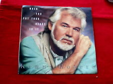KENNY ROGERS~ WHEN YOU PUT YOUR HEART IN IT~ NEAR MINT~ PROMO~ ~ COUNTRY 45