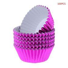 100pcs Paper Cupcake Cup Aluminium Foil Muffin Baking Cups Liners Cupcakes Case