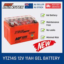 Honda VT1300CS, CR, CXA, FURY 1300cc YTZ14S battery 12V 11AH 10 Hours Rate