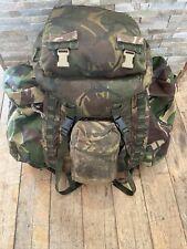 More details for genuine army mod surplus dpm camouflage infantry bergen back pack rucksack bag