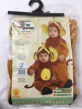 Rubie's Monkey See, Mokey Do Costume Infant Size 1-2 (6-12 mo.)