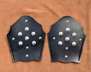 Medieval Leather Vambraces / Engraved Arm Guard
