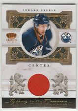 2010 10-11 Crown Royale Heirs to the Throne Materials #JE Jordan Eberle 122/250