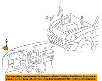 89570-60140 Toyota Computer assy, fuel pump control 8957060140, New Genuine OEM