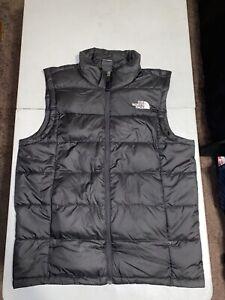 The North Face 550 Goose Down Puffer Vest Mens Medium Black