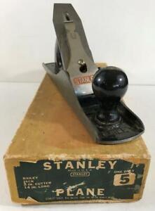Vintage STANLEY #5 Plane in Original Box