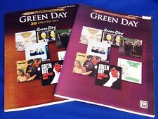 Greenday Bass & Easy Guitar Anthology 20 Greatest Hits Guitar Tab Songbook Music